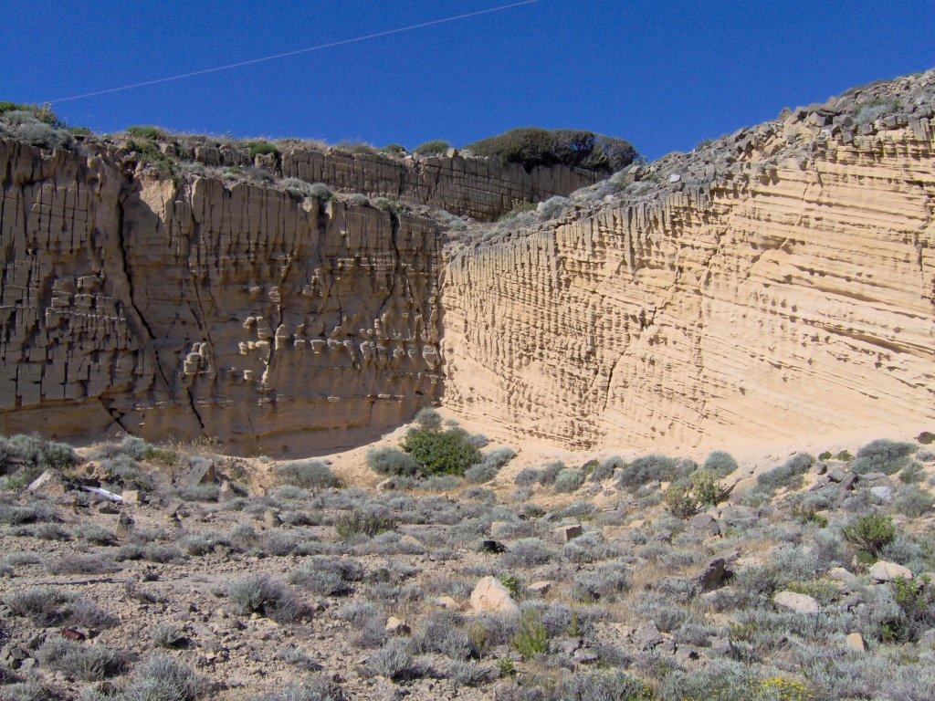 Upper Pleotocene aeolian deposits