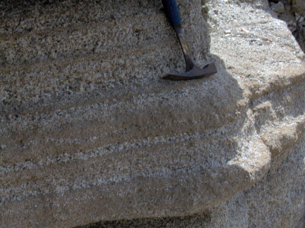 Upper Pleistocene foreshore to shoreface deposits